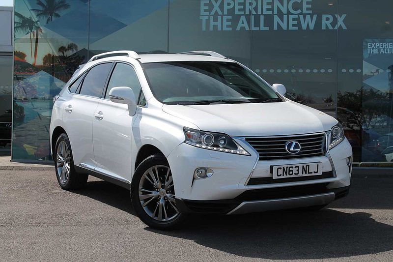 pre owned lexus rx 450h 3 5 luxury design pack by lexus cardiff cardiff. Black Bedroom Furniture Sets. Home Design Ideas