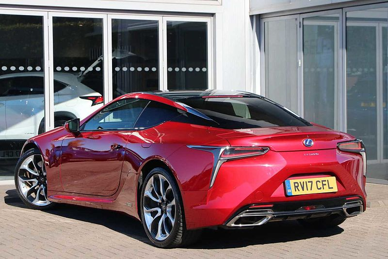 Lexus LC 500h 3.5 2 Door Coupe