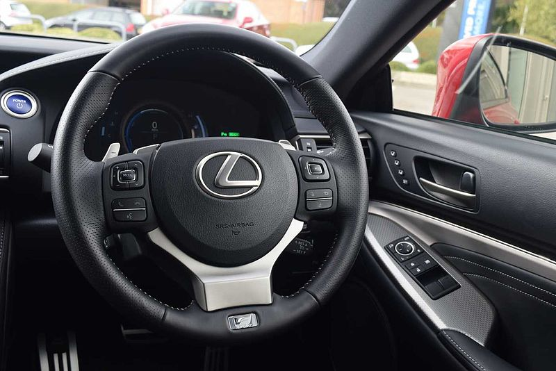 Pre Owned Lexus Rc300h F Sport With Lexus Navigation Amp Amp