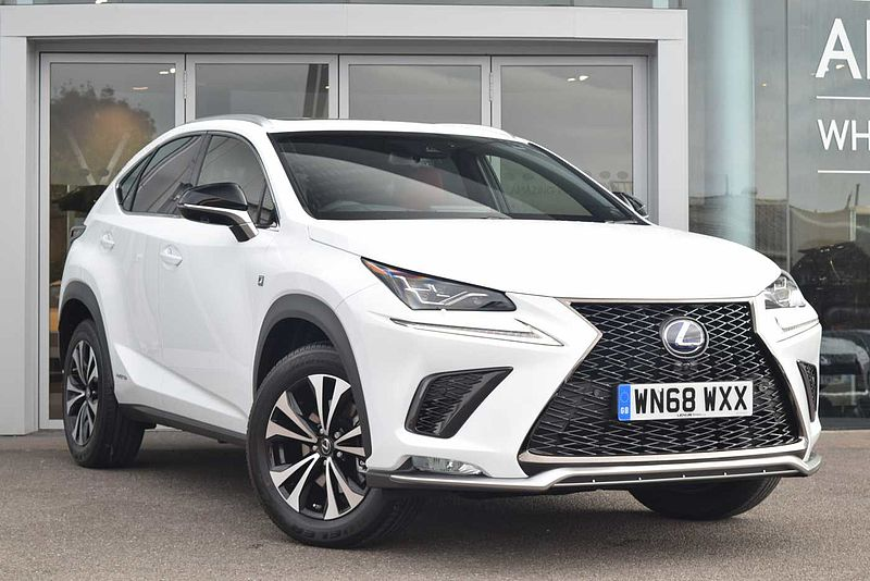 pre owned lexus nx 300h 2 5 f sport premier pack and protection pack by lexus bristol bristol. Black Bedroom Furniture Sets. Home Design Ideas