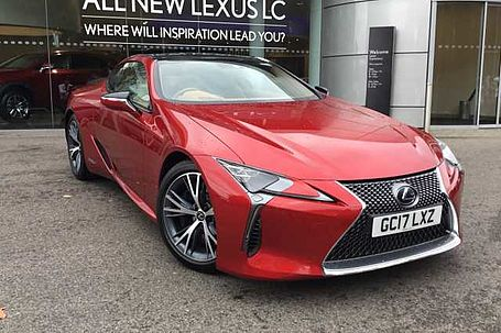 Used Lexus Lc For Sale From Lexus Approved Pre Owned