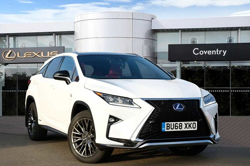 pre owned lexus rx 450h 3 5 f sport panoramic roof ulez. Black Bedroom Furniture Sets. Home Design Ideas