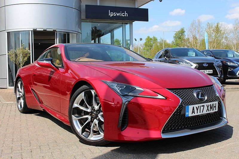 Lexus LC 500 5.0 Sport Plus ML 2 Door Coupe